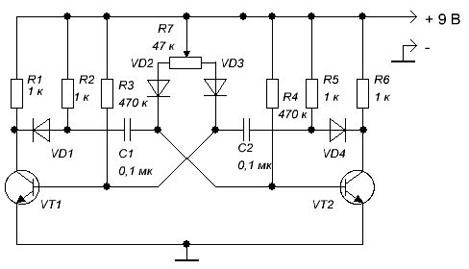 При использовании транзисторов